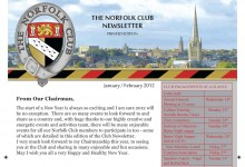 Bespoke Newsletter, Website Design, Kings Lynn and Norfolk