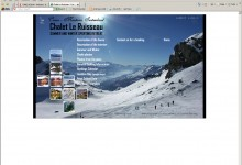 Chalet Le Ruisseau, Website Design, Kings Lynn and Norfolk