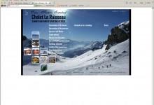 Chalet Le Ruisseau, Website Design, Norfolk and Kings Lynn
