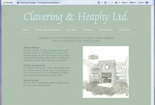 Clavering and Heaphy, Website Design, Kings Lynn and Norfolk