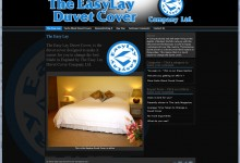 The Easy Lay Duvet Cover Company Ltd, Website Design Kings Lynn and Norfolk, Logo, Brochure, Letterheads, Business cards