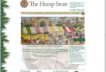 The Hemp Store, Website Design, Logo, Brochure, Letterheads, Business cards