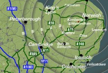 Bespoke Map, Branding, Graphic Design, Website Design, Norfolk and Kings Lynn