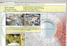 North Norfolk Bespoke Joinery, Website Design, Norfolk and Kings Lynn