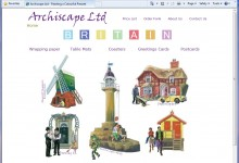 Archiscape - now SatinDrew Ltd, Website Design, Kings Lynn and Norfolk