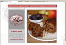 Bank Bakery, Website Design, Kings Lynn and Norfolk