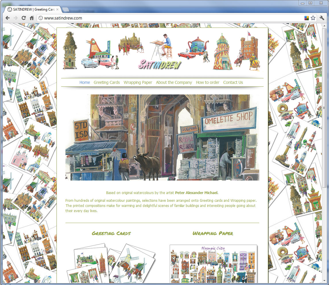 Satindrew Ltd. Website Design, Norfolk and Kings Lynn